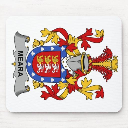 Escudo de la familia de Meara Alfombrillas De Ratones