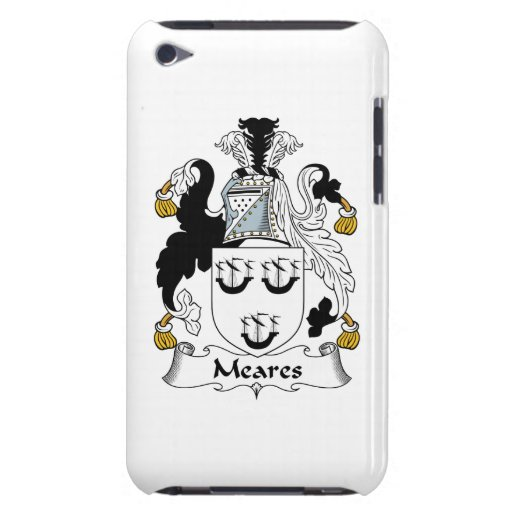 Escudo de la familia de Meares iPod Case-Mate Coberturas