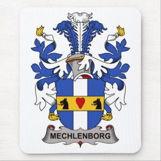 Escudo de la familia de Mechlenborg Alfombrillas De Ratón