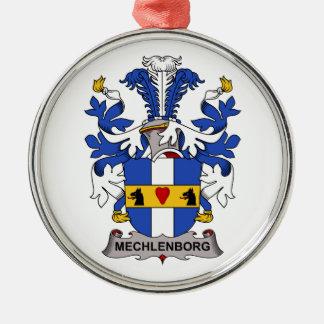 Escudo de la familia de Mechlenborg Ornaments Para Arbol De Navidad
