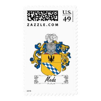 Escudo de la familia de MEDA Estampilla