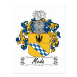 Escudo de la familia de MEDA Postal
