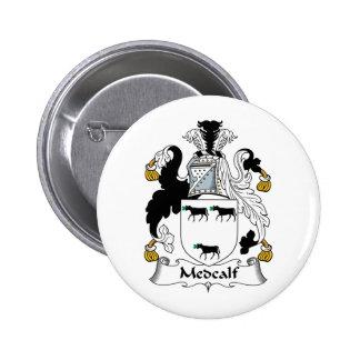 Escudo de la familia de Medcalf Pins