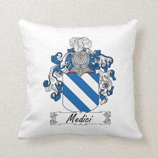Escudo de la familia de Medici Cojín