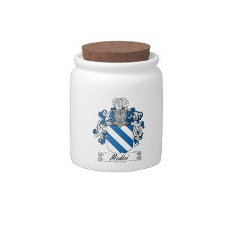 Escudo de la familia de Medici Jarra Para Caramelo