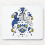 Escudo de la familia de Mee Alfombrilla De Raton