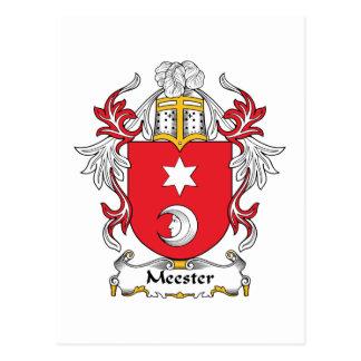 Escudo de la familia de Meester Postal