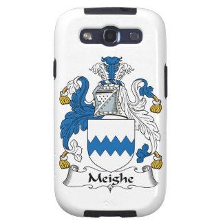 Escudo de la familia de Meighe Galaxy S3 Protector