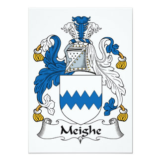 Escudo de la familia de Meighe Anuncio Personalizado
