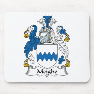 Escudo de la familia de Meighe Tapete De Ratones