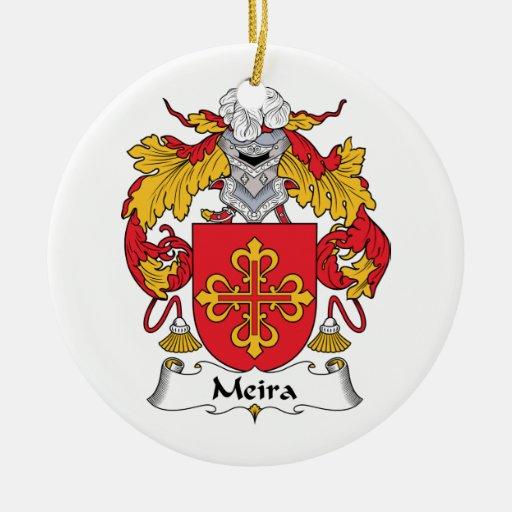 Escudo de la familia de Meira Ornamentos De Reyes