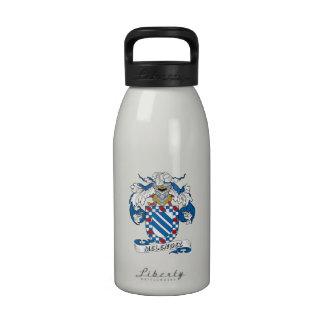 Escudo de la familia de Melendez Botellas De Agua Reutilizables