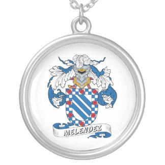Escudo de la familia de Melendez Grimpolas