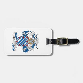 Escudo de la familia de Melendez Etiqueta De Equipaje