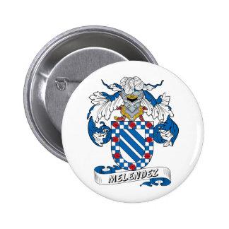 Escudo de la familia de Melendez Pins
