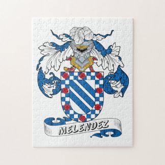 Escudo de la familia de Melendez Puzzles