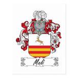 Escudo de la familia de Meli Postal
