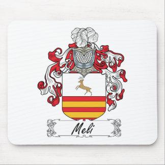Escudo de la familia de Meli Alfombrilla De Ratón