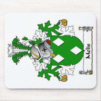 Escudo de la familia de Melis Tapetes De Ratón