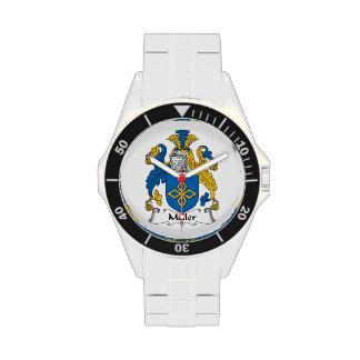 Escudo de la familia de Meller Relojes De Mano