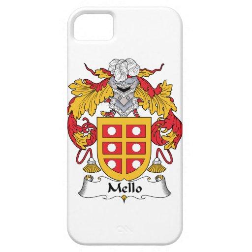 Escudo de la familia de Mello iPhone 5 Cárcasas
