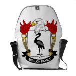 Escudo de la familia de Mellon Bolsa Messenger
