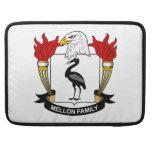 Escudo de la familia de Mellon Funda Para Macbooks