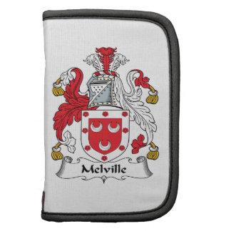 Escudo de la familia de Melville Planificador
