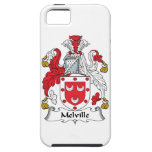Escudo de la familia de Melville iPhone 5 Case-Mate Cárcasa
