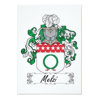 Escudo de la familia de Melzi Comunicados Personalizados