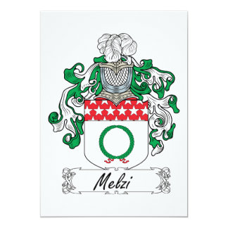 Escudo de la familia de Melzi Comunicados