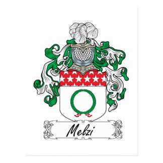 Escudo de la familia de Melzi Postal