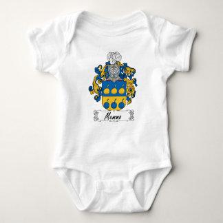 Escudo de la familia de Memmo Body Para Bebé
