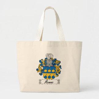 Escudo de la familia de Memmo Bolsa Lienzo