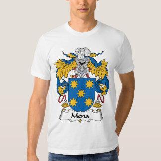 Escudo de la familia de Mena Polera