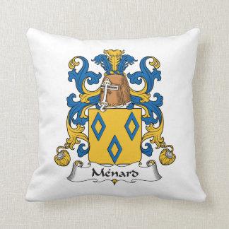Escudo de la familia de Menard Cojín