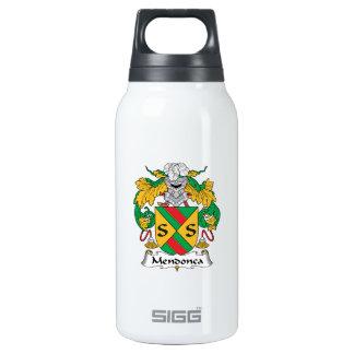 Escudo de la familia de Mendonca Botella Isotérmica De Agua