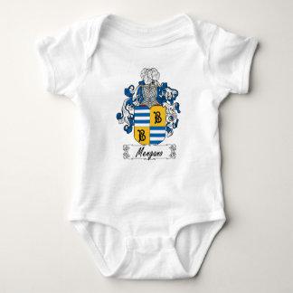 Escudo de la familia de Mengano Body Para Bebé