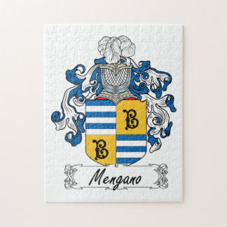 Escudo de la familia de Mengano Puzzle