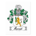 Escudo de la familia de Mercati Postales