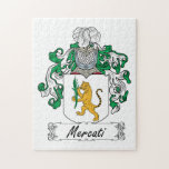 Escudo de la familia de Mercati Puzzle Con Fotos