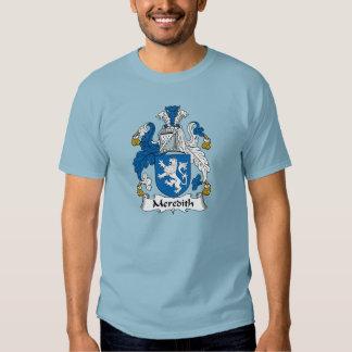 Escudo de la familia de Meredith Camisas
