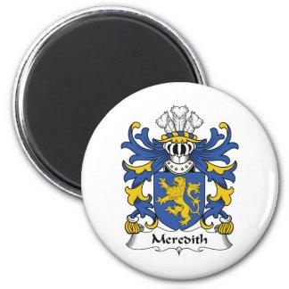 Escudo de la familia de Meredith Imán Redondo 5 Cm