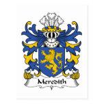 Escudo de la familia de Meredith Postal