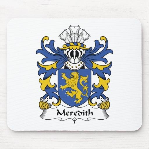 Escudo de la familia de Meredith Alfombrilla De Ratón