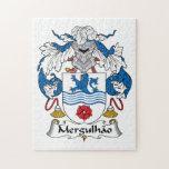 Escudo de la familia de Mergulhao Puzzles Con Fotos