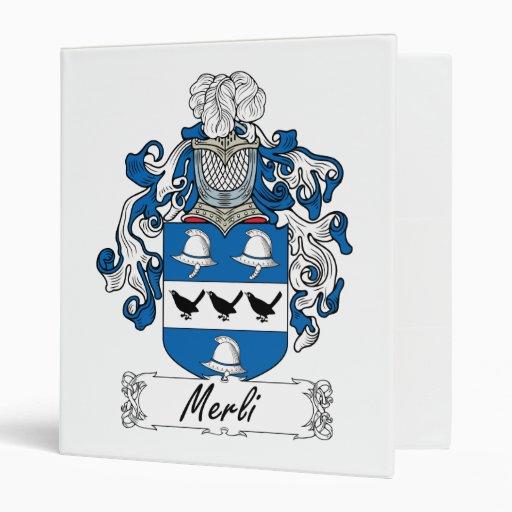 Escudo de la familia de Merli