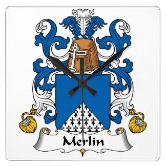 Escudo de la familia de MERLIN Reloj