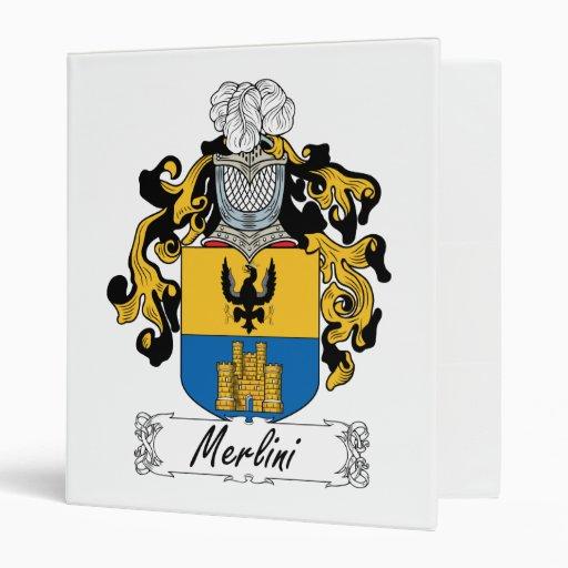 Escudo de la familia de Merlini