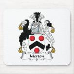 Escudo de la familia de Merton Alfombrilla De Ratones